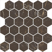 MOSAICO HEX BROWN SAINT LAURENT LUCIDATO